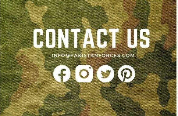 Contact Us Pakistan Forces