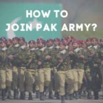 How to Join Pak Army After Matric, FSC, Inter, BSC, Graduation, Masters