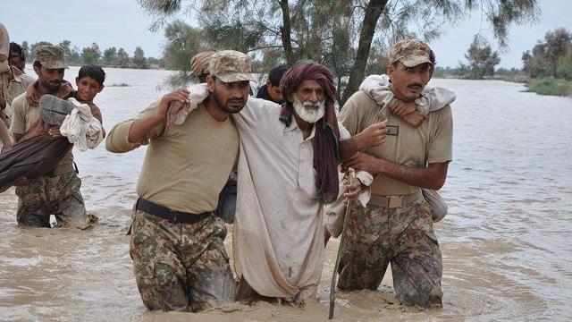 Pak Army Life-Saving Operation