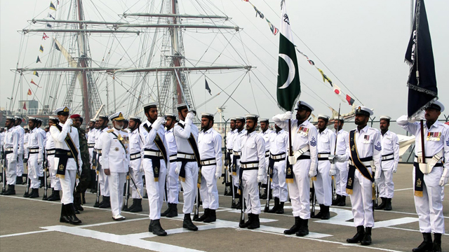 Pakistan Navy Soldiers