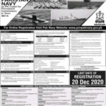 Join Pak Navy as PN Cadet 2021 for Permanent Commission - Apply Now